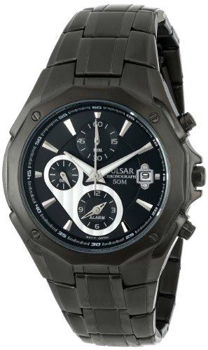 腕時計 パルサー SEIKO セイコー メンズ PF3961 【送料無料】Pulsar Men's PF3961 Chronograph Black Dial Watch腕時計 パルサー SEIKO セイコー メンズ PF3961