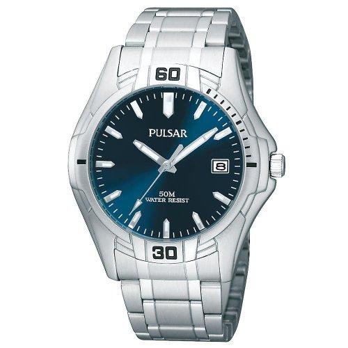 パルサー SEIKO セイコー 腕時計 メンズ PXH917X 【送料無料】Pulsar Blue Dial Stainless Steel Mens Watch PXH917パルサー SEIKO セイコー 腕時計 メンズ PXH917X
