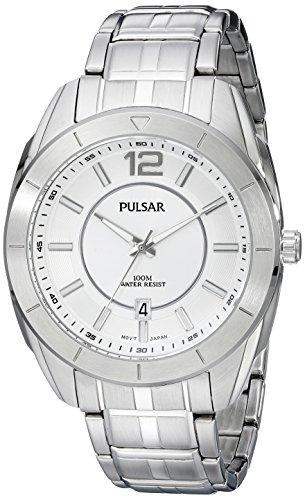 パルサー SEIKO セイコー 腕時計 メンズ PS9339 【送料無料】Pulsar Men's PS9339 Analog Display Analog Quartz Silver Watchパルサー SEIKO セイコー 腕時計 メンズ PS9339