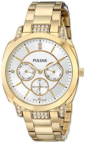 パルサー SEIKO セイコー 腕時計 レディース PP6136 Pulsar Women's PP6136 Night Out Analog Display Japanese Quartz Gold Watchパルサー SEIKO セイコー 腕時計 レディース PP6136