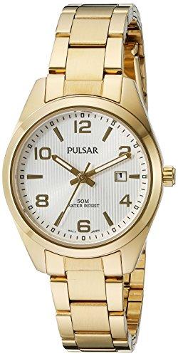 パルサー SEIKO セイコー 腕時計 レディース PJ2018X Pulsar Women's PJ2018X Every Day Value Analog Display Japanese Quartz Gold Watchパルサー SEIKO セイコー 腕時計 レディース PJ2018X