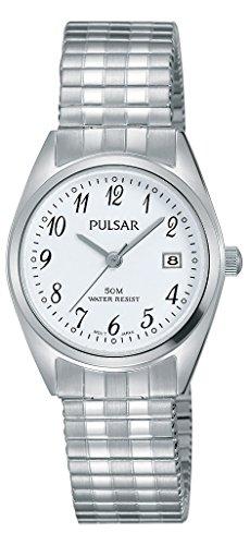 パルサー SEIKO セイコー 腕時計 レディース PH7443 Pulsar Ladies Stainless Steel Expanding Bracelet Watchパルサー SEIKO セイコー 腕時計 レディース PH7443