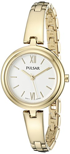 パルサー SEIKO セイコー 腕時計 レディース PG2036X Pulsar Women's PG2036X Every Day Value Analog Display Japanese Quartz Gold Watchパルサー SEIKO セイコー 腕時計 レディース PG2036X