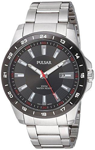 腕時計 パルサー SEIKO セイコー メンズ PH9055X 【送料無料】Pulsar Men's PH9055X Analog Display Japanese Quartz Silver Watch腕時計 パルサー SEIKO セイコー メンズ PH9055X