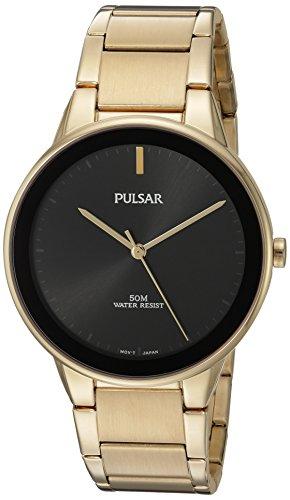 パルサー SEIKO セイコー 腕時計 メンズ PG2046 【送料無料】Pulsar Men's Quartz Brass and Stainless Steel Dress Watch, Color:Gold-Toned (Model: PG2046)パルサー SEIKO セイコー 腕時計 メンズ PG2046