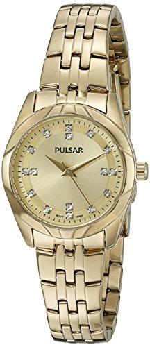 パルサー SEIKO セイコー 腕時計 レディース PH8146 Pulsar Women's 'Dress Sport' Quartz Gold-Toned Dress Watch (Model: PH8146)パルサー SEIKO セイコー 腕時計 レディース PH8146