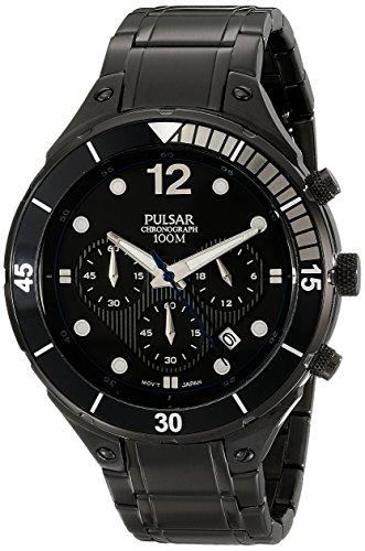 パルサー SEIKO セイコー 腕時計 メンズ PT3637 【送料無料】Pulsar Men's PT3637 Analog Display Analog Quartz Black Watchパルサー SEIKO セイコー 腕時計 メンズ PT3637