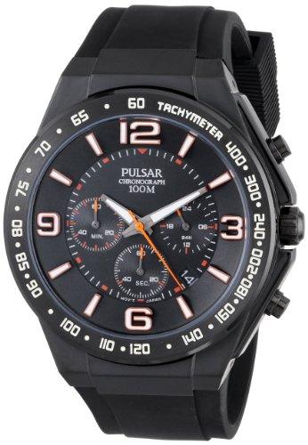パルサー SEIKO セイコー 腕時計 メンズ PT3403 Pulsar Men's PT3403 Analog Display Japanese Quartz Black Watchパルサー SEIKO セイコー 腕時計 メンズ PT3403