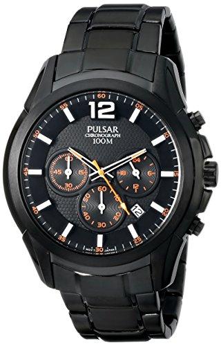 パルサー SEIKO セイコー 腕時計 メンズ PT3623 【送料無料】Pulsar Men's PT3623 Analog Display Japanese Quartz Black Watchパルサー SEIKO セイコー 腕時計 メンズ PT3623