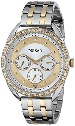 腕時計 パルサー SEIKO セイコー レディース PP6180 【送料無料】Pulsar Women's PP6180 Analog Display Japanese Quartz Two Tone Watch腕時計 パルサー SEIKO セイコー レディース PP6180