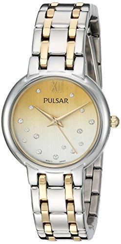 パルサー SEIKO セイコー 腕時計 レディース PH8303 【送料無料】Pulsar Women's Analog-Quartz Watch with Stainless-Steel Strap, Two Tone, 14 (Model: PH8303)パルサー SEIKO セイコー 腕時計 レディース PH8303