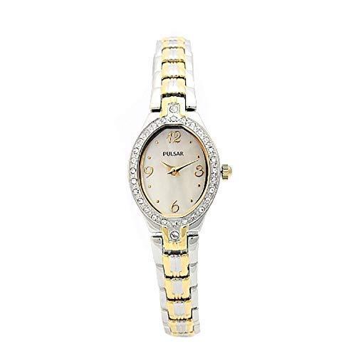 パルサー SEIKO セイコー 腕時計 レディース Pulsar PTA460 Gift Set Mother-of-Pearl Dial Womens Watchパルサー SEIKO セイコー 腕時計 レディース