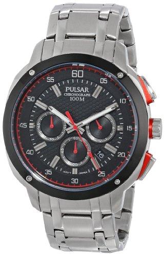 パルサー SEIKO セイコー 腕時計 メンズ PT3395 Pulsar Men's PT3395 Analog Display Japanese Quartz Silver Watchパルサー SEIKO セイコー 腕時計 メンズ PT3395