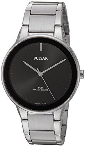 パルサー SEIKO セイコー 腕時計 メンズ PG2043 【送料無料】Pulsar Men's Quartz Brass and Stainless Steel Dress Watch, Color:Silver-Toned (Model: PG2043)パルサー SEIKO セイコー 腕時計 メンズ PG2043