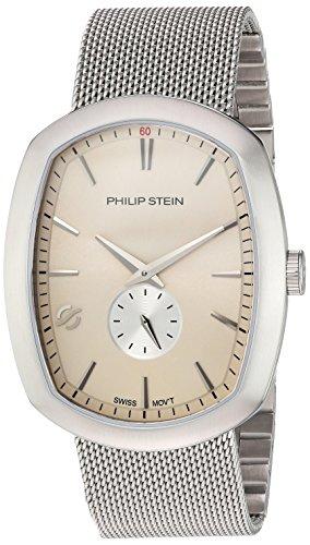 フィリップ ステイン 腕時計 メンズ 72-CBE-MSS 【送料無料】Philip Stein Men's Modern Swiss-Quartz Watch with Stainless-Steel Strap, Silver, 22 (Model: 72-CBE-MSS)フィリップ ステイン 腕時計 メンズ 72-CBE-MSS