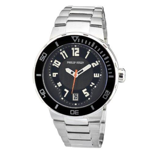 腕時計 フィリップ ステイン メンズ 34-BB-SS 【送料無料】Philip Stein Men's 34-BB-SS Extreme Stainless-Steel Strap Watch腕時計 フィリップ ステイン メンズ 34-BB-SS