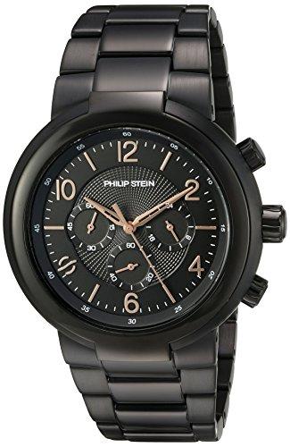 """フィリップ ステイン 腕時計 メンズ 32-ABRG-BSS 【送料無料】Philip Stein Men""""s """"Active"""" Quartz Stainless Steel Casual Watch, Color:Black (Model: 32-ABRG-BSS)フィリップ ステイン 腕時計 メンズ 32-ABRG-BSS"""