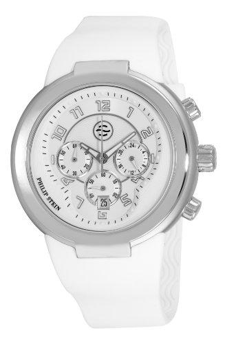 フィリップ ステイン 腕時計 メンズ 32-AW-RW Philip Stein Men's 32-AW-RW Active White Rubber Strap Watchフィリップ ステイン 腕時計 メンズ 32-AW-RW