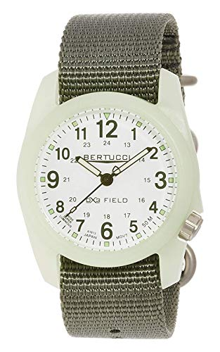 ベルトゥッチ 逆輸入 海外モデル 海外限定 アメリカ直輸入 11028 BERTUCCI DX3 Field Watch White/SuperLum-Drab Band 11028ベルトゥッチ 逆輸入 海外モデル 海外限定 アメリカ直輸入 11028