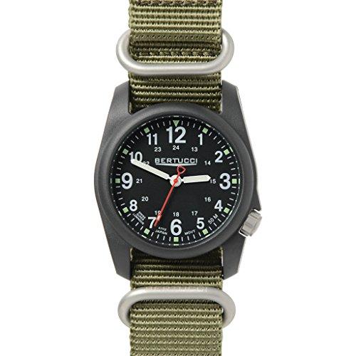腕時計 ベルトゥッチ メンズ 逆輸入 海外モデル 8.73E+11 【送料無料】Bertucci DX3 NATO Watch Black - NATO Drab腕時計 ベルトゥッチ メンズ 逆輸入 海外モデル 8.73E+11