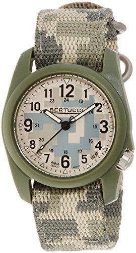 腕時計 ベルトゥッチ メンズ 逆輸入 海外モデル 11030 【送料無料】Bertucci 11030 Mens Commando Camo Digicam Nylon Band腕時計 ベルトゥッチ メンズ 逆輸入 海外モデル 11030