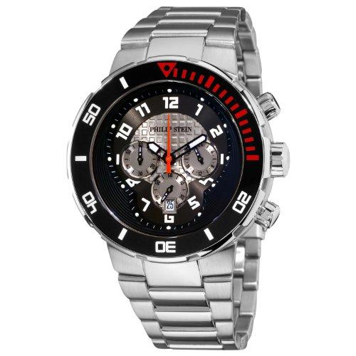 フィリップ ステイン 腕時計 メンズ 33-XBOGR-SS 【送料無料】Philip Stein Men's 33-XBOGR-SS Active Stainless Steel Bracelet Watchフィリップ ステイン 腕時計 メンズ 33-XBOGR-SS