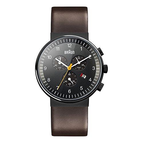ブラウン 腕時計 メンズ BN0035BKBRG 【送料無料】Braun Men's BN0035BKBRG Classic Chronograph Analog Display Japanese Quartz Brown Watchブラウン 腕時計 メンズ BN0035BKBRG