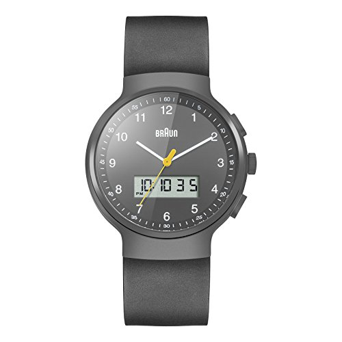 ブラウン 腕時計 メンズ BN0159GYGYG 【送料無料】Braun Men's BN0159GYGYG Analog Digital Analog-Digital Display Japanese Quartz Black Watchブラウン 腕時計 メンズ BN0159GYGYG
