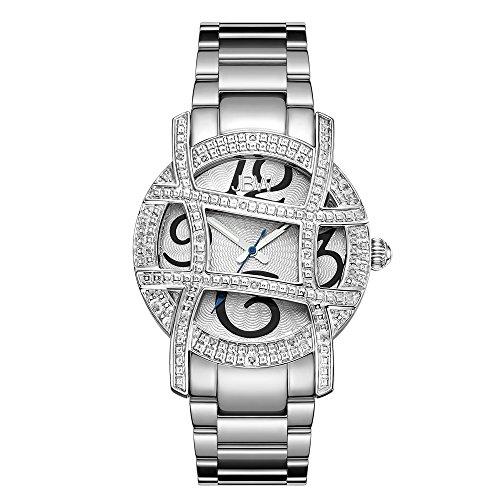 高級腕時計 レディース JB-6214-A JBW Luxury Women's Olympia .20 Carat Diamond Wrist Watch with Stainless Steel Bracelet高級腕時計 レディース JB-6214-A