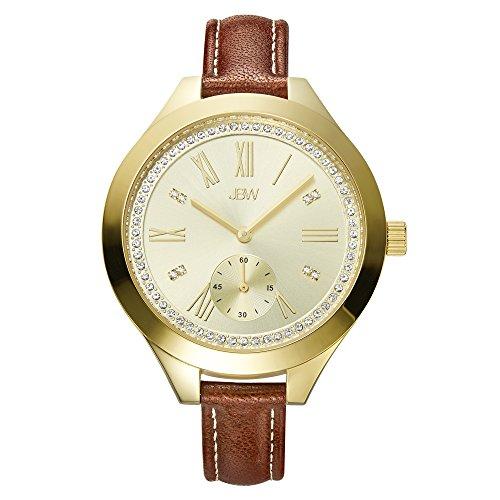 高級腕時計 レディース J6309B 【送料無料】JBW Luxury Women's Aria Diamond Wrist Watch with Leather Bracelet高級腕時計 レディース J6309B