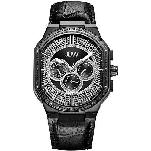 高級腕時計 メンズ J6342D 【送料無料】JBW Luxury Men's Orion 0.12 Carat Diamond Wrist Watch with Leather Bracelet高級腕時計 メンズ J6342D
