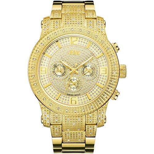 高級腕時計 メンズ J6336B JBW Luxury Men's Lynx 0.80 Carat Diamond Wrist Watch with Stainless Steel Bracelet高級腕時計 メンズ J6336B