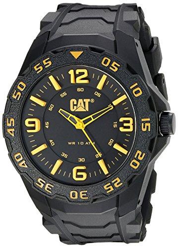 キャタピラー タフネス 腕時計 メンズ 頑丈 LB11121137 CAT WATCHES Men's LB11121137 Motion Analog Display Quartz Black Watchキャタピラー タフネス 腕時計 メンズ 頑丈 LB11121137
