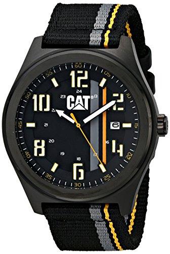 腕時計 キャタピラー メンズ タフネス 頑丈 PO16164134 【送料無料】CAT WATCHES Men's PO16164134 Fastlane Analog Display Quartz Black Watch腕時計 キャタピラー メンズ タフネス 頑丈 PO16164134