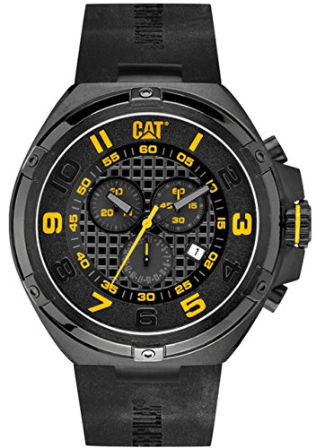 キャタピラー タフネス 腕時計 メンズ 頑丈 SA16321111 【送料無料】CAT WATCHES Men's SA16321111 Blade Analog Display Quartz Black Watchキャタピラー タフネス 腕時計 メンズ 頑丈 SA16321111