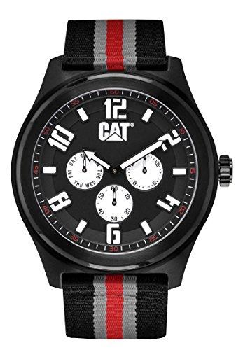 キャタピラー タフネス 腕時計 メンズ 頑丈 PP16968132 CAT WATCHES Men's PP16968132 Fastlane Analog Display Quartz Black Watchキャタピラー タフネス 腕時計 メンズ 頑丈 PP16968132