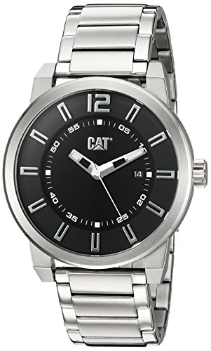 キャタピラー タフネス 腕時計 メンズ 頑丈 NK14111121 【送料無料】CAT WATCHES Men's 'Hardware' Quartz Stainless Steel Watch, Color:Silver-Toned (Model: NK14111121)キャタピラー タフネス 腕時計 メンズ 頑丈 NK14111121