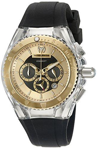 テクノマリーン 腕時計 レディース TM-115173 Technomarine Women's TM-115173 Cruise Pearl Analog Display Quartz Black Watchテクノマリーン 腕時計 レディース TM-115173