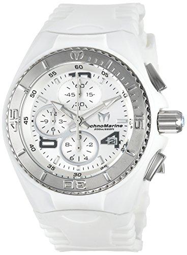 テクノマリーン 腕時計 レディース TM-115102 Technomarine Women's Cruise Stainless Steel Quartz Watch with Silicone Strap, White, 26 (Model: TM-115102)テクノマリーン 腕時計 レディース TM-115102