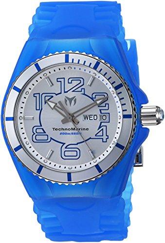 テクノマリーン 腕時計 メンズ TM-115140 【送料無料】Technomarine Men's Cruise Stainless Steel Quartz Watch with Silicone Strap, Blue, 29 (Model: TM-115140)テクノマリーン 腕時計 メンズ TM-115140