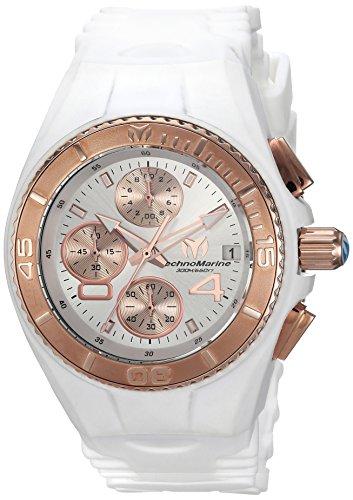 テクノマリーン 腕時計 レディース TM-115362 【送料無料】Invicta Women's Cruise Stainless Steel Quartz Watch with Silicone Strap, White, 24 (Model: TM-115362)テクノマリーン 腕時計 レディース TM-115362