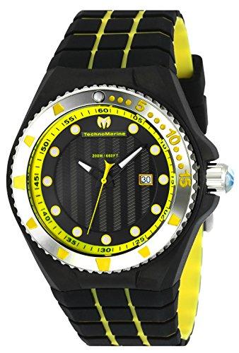 テクノマリーン 腕時計 メンズ TM-115218 【送料無料】Technomarine Men's Cruise Stainless Steel Quartz Watch with Silicone Strap, Two Tone, 24.8 (Model: TM-115218)テクノマリーン 腕時計 メンズ TM-115218