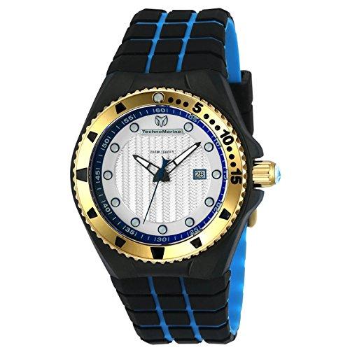 テクノマリーン 腕時計 メンズ TM-115220 Technomarine Men's 'Cruise' Quartz Stainless Steel and Silicone Casual Watch, Color:Two Tone (Model: TM-115220)テクノマリーン 腕時計 メンズ TM-115220