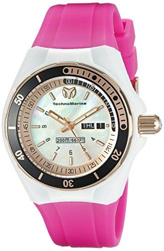 テクノマリーン 腕時計 レディース TM-115120 Technomarine Women's TM-115120 Cruise Sport Analog Display Swiss Quartz Pink Watchテクノマリーン 腕時計 レディース TM-115120