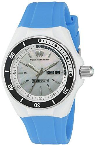 テクノマリーン 腕時計 レディース TM-115122 Technomarine Women's TM-115122 Cruise Sport Analog Display Swiss Quartz Blue Watchテクノマリーン 腕時計 レディース TM-115122