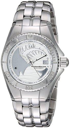テクノマリーン 腕時計 レディース TM-115199 Technomarine Women's Cruise Quartz Watch with Stainless-Steel Strap, Silver, 16 (Model: TM-115199)テクノマリーン 腕時計 レディース TM-115199
