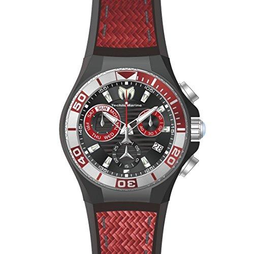テクノマリーン 腕時計 メンズ TM-115179 Technomarine Men's 'Cruise' Quartz Stainless Steel and Silicone Casual Watch, Color:Two Tone (Model: TM-115179)テクノマリーン 腕時計 メンズ TM-115179