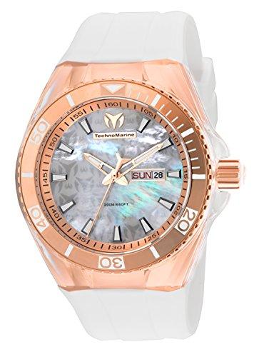 TM-115063 Analog 腕時計 Display 【送料無料】Technomarine TM-115063 Watch腕時計 テクノマリーン White TM-115063 Men's Quartz Cruise メンズ テクノマリーン Monogram メンズ