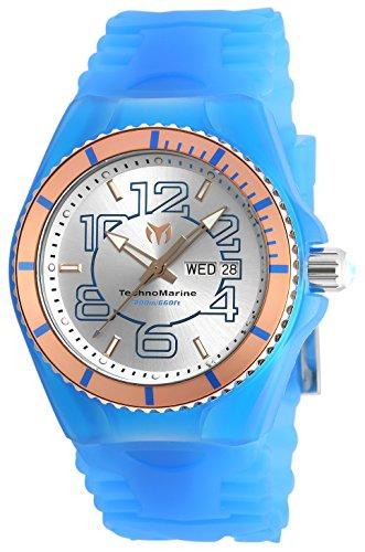 テクノマリーン 腕時計 メンズ TM-115146 【送料無料】Technomarine Men's 'Cruise JellyFish' Swiss Quartz Stainless Steel Casual Watch (Model: TM-115146)テクノマリーン 腕時計 メンズ TM-115146