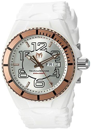 テクノマリーン 腕時計 メンズ TM-115145 Technomarine Men's 'Cruise JellyFish' Swiss Quartz Stainless Steel Casual Watch (Model: TM-115145)テクノマリーン 腕時計 メンズ TM-115145